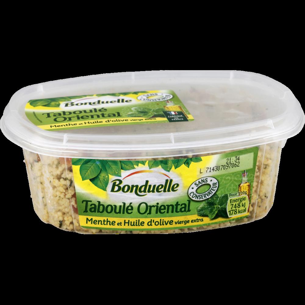 Taboulé à la menthe et à l'huile d'olive extra vierge, Bonduelle (300 g)