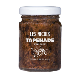 Tapenade noire de Tata Colette, Les Niçois (80 g)