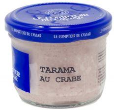 Tarama au crabe 12%, Le Comptoir du Caviar (90 g)