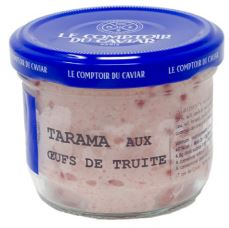 Tarama aux oeufs de truite 12.5%, Le Comptoir du Caviar (90 g)