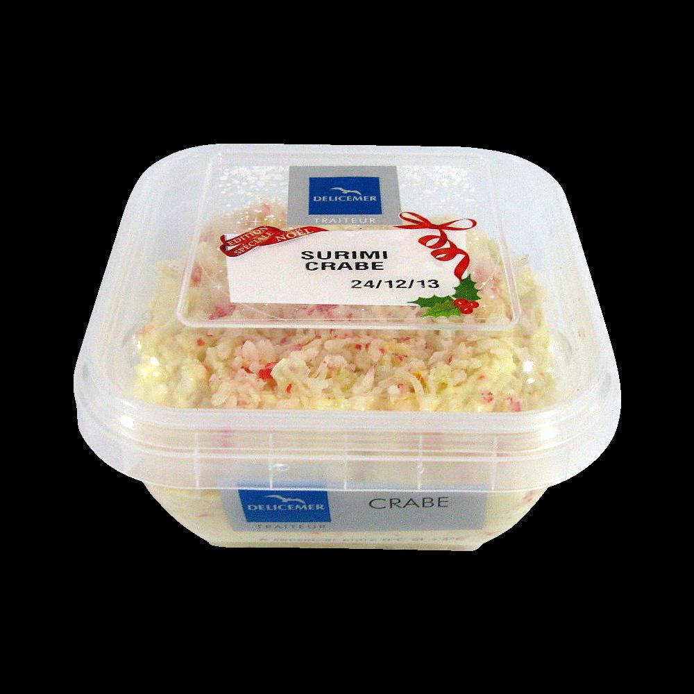 Tartinable au surimi de crabe, Délicemer (120 g)