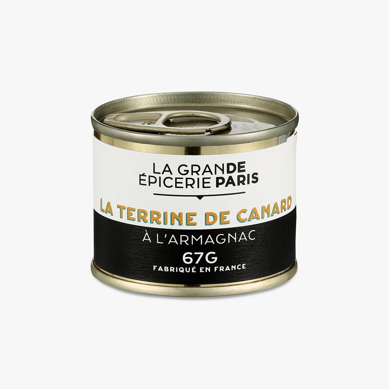 Terrine de canard à l'Armagnac, La Grande Epicerie de Paris (67 g)