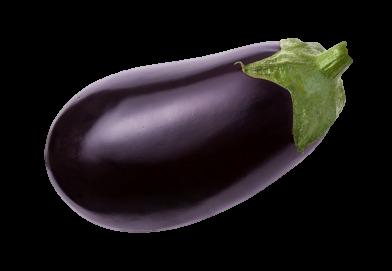 Aubergine ovale violette BIO (petit calibre), Espagne
