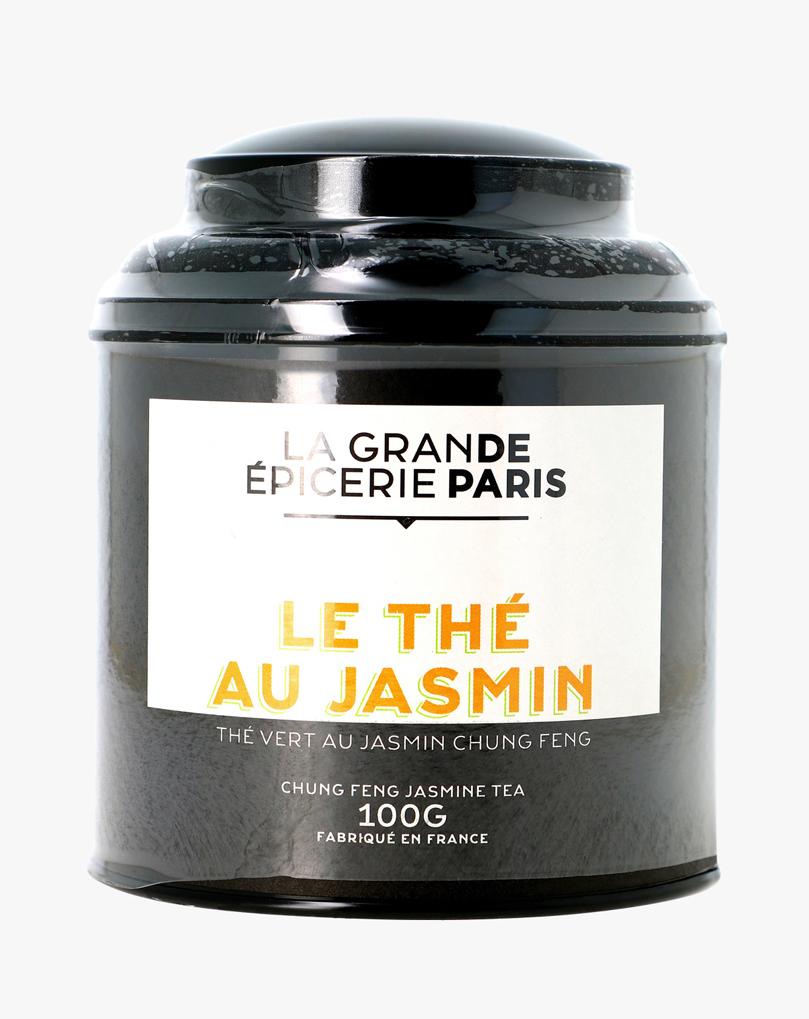 Thé au jasmin, thé vert Chung Feng, La Grande Epicerie de Paris (100 g)