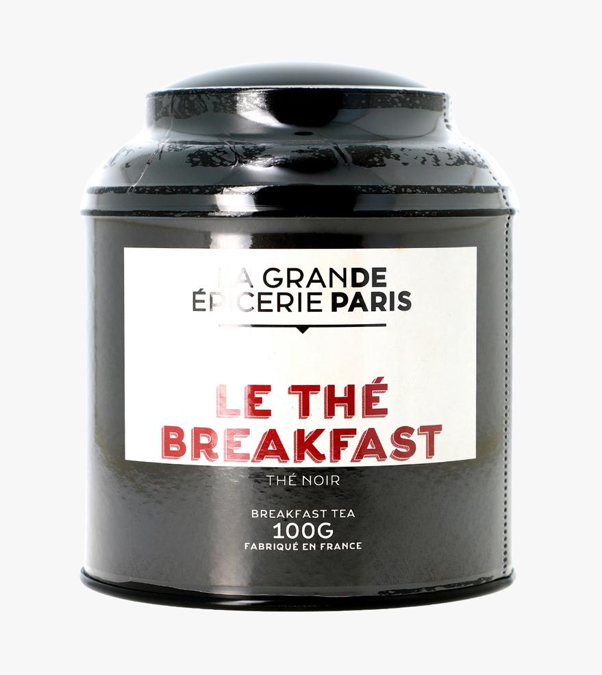 Thé Breakfast, thé noir, La Grande Epicerie de Paris (100 g)