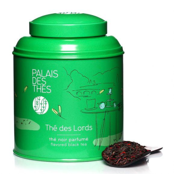 Thé noir des Lords - boîte colorée, Palais des Thés (100 g)