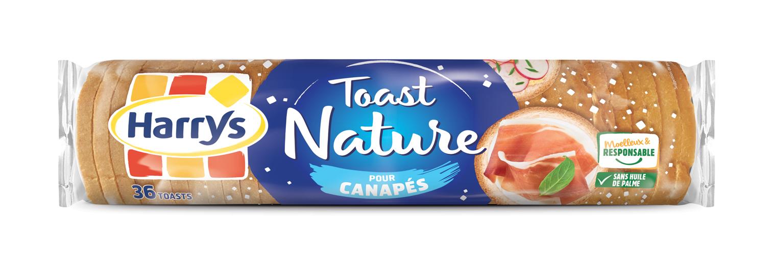 Toast canapés, Harry's (x 36, 280 g)