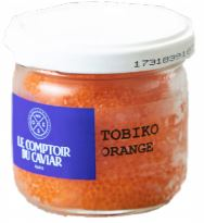 Tobiko orange, Le Comptoir du Caviar (90 g)