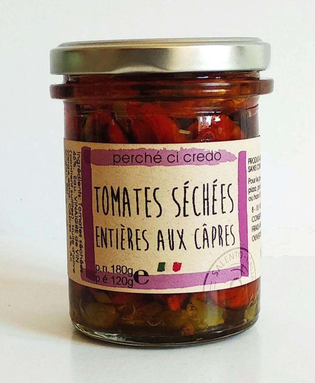Tomates séchées aux câpres, Perche Ci Credo (180 g)
