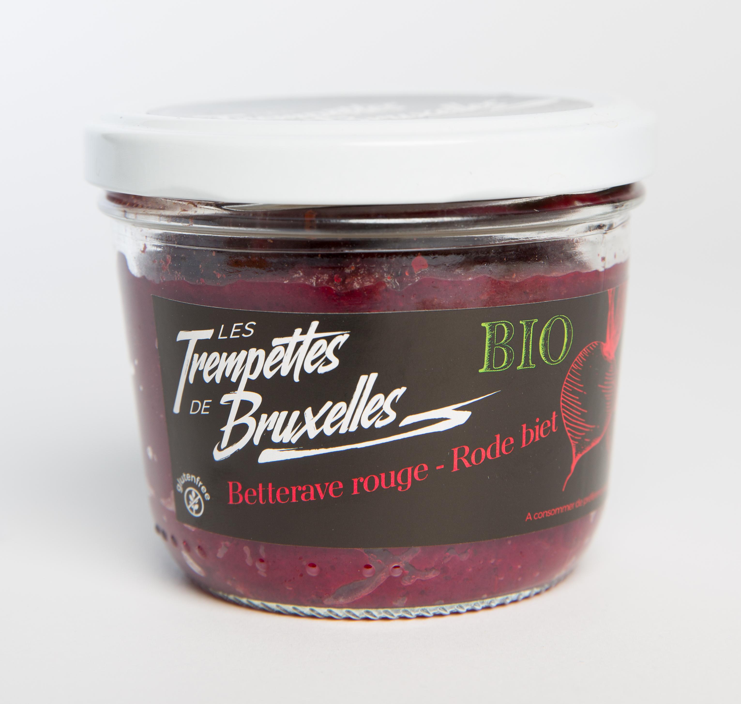 Trempettes saveur Betterave rouge BIO, Les Trempettes de Bruxelles (315 g)