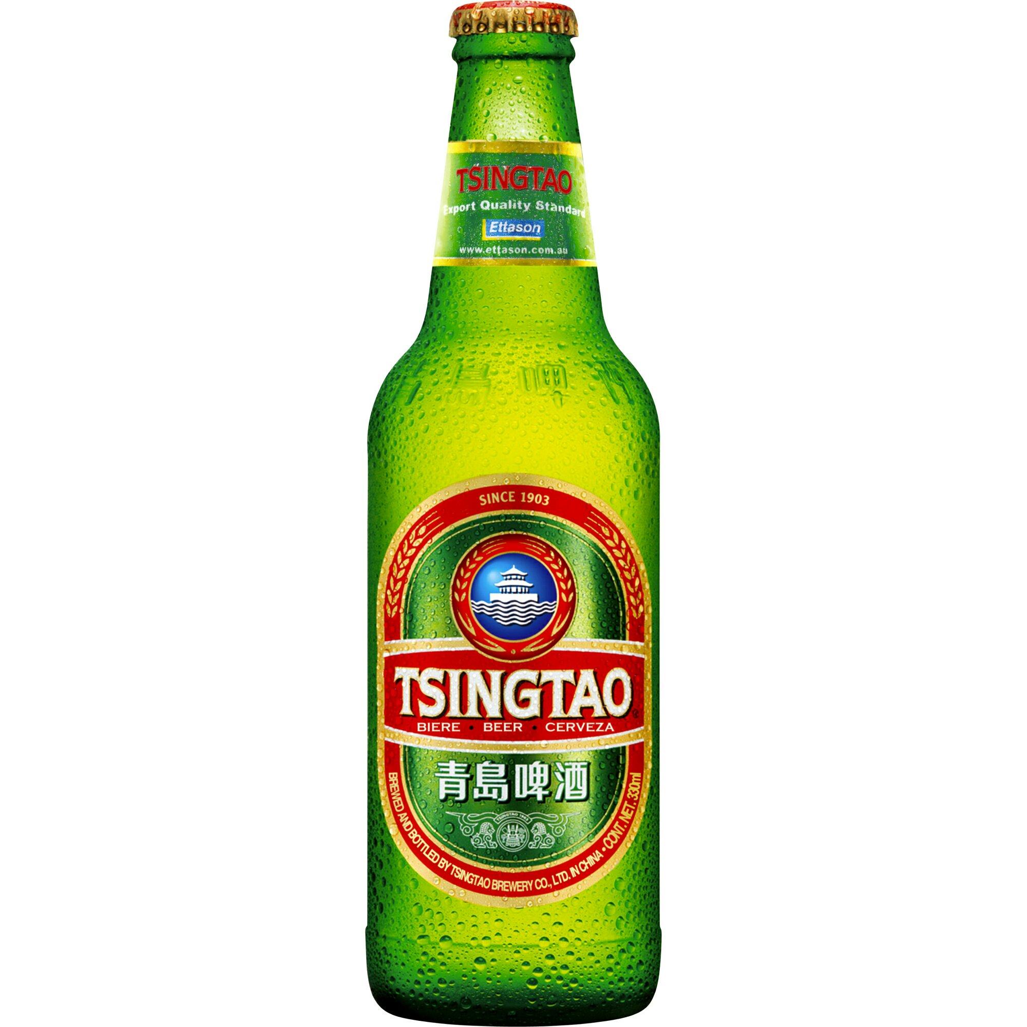 Bière Tsingtao (33 cl)