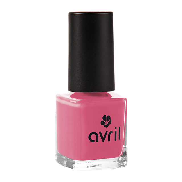 Vernis à ongles rose bollywood n°57, Avril (7 ml)