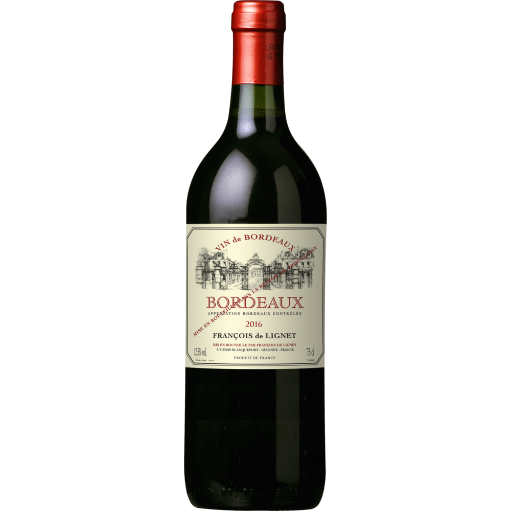 Bordeaux AOP François de Lignet 2019 (75 cl)