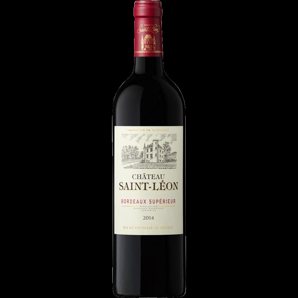 Bordeaux supérieur AOP chateau St Leon 2016 (75 cl)