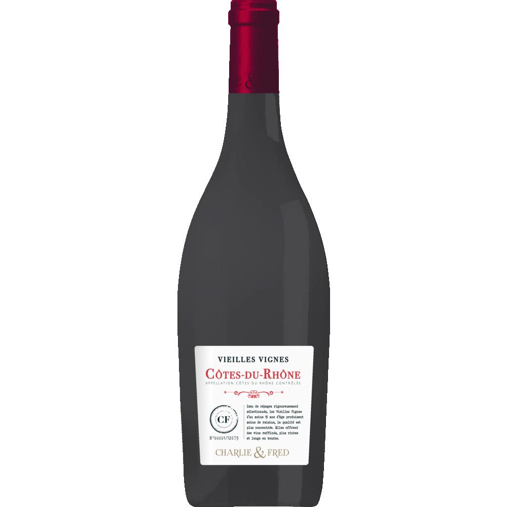 Côtes du Rhône AOP Vieilles Vignes Michel d'Azilles 2018 (75 cl)