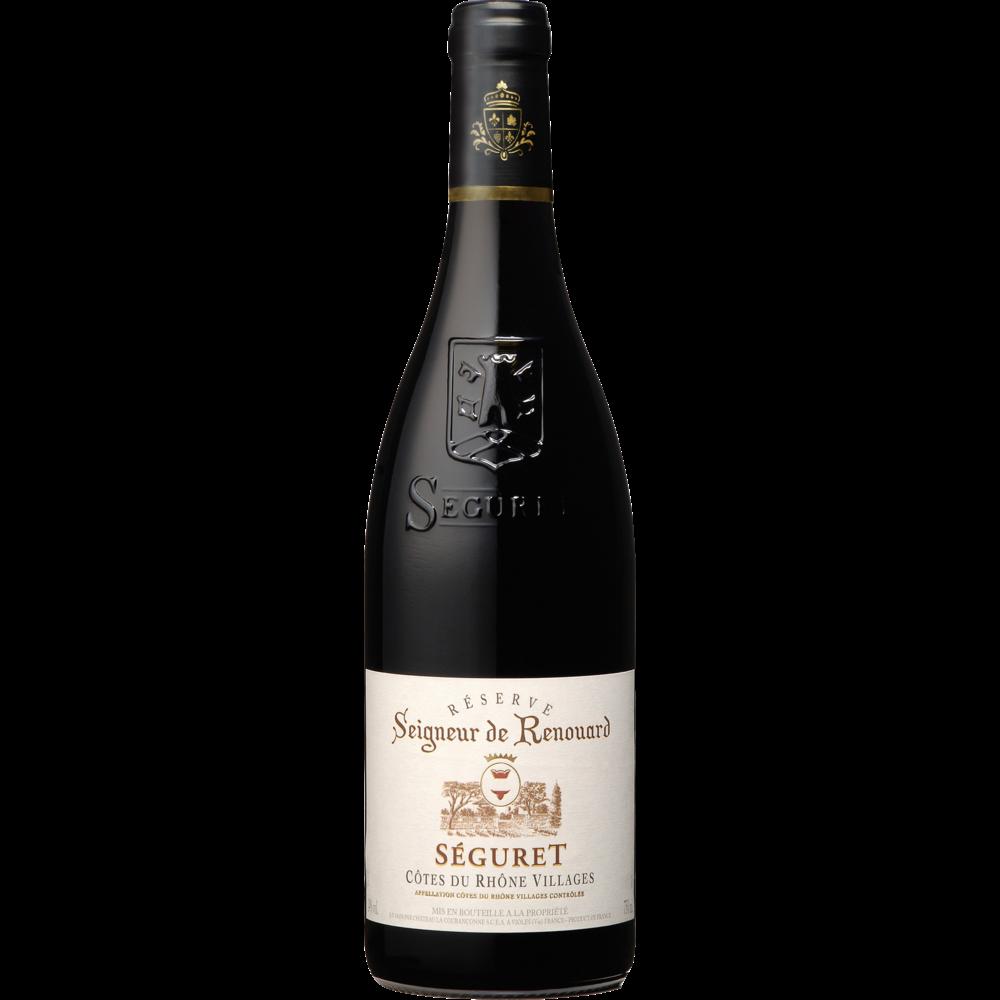 Côtes du Rhône AOP Village Seguret Seigneur de Renouard 2018 (75 cl)