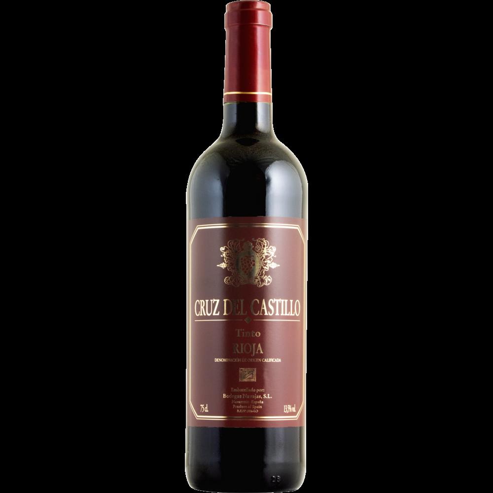 Vin rouge d'Espagne do tinto rioja Cruz del Castillo (75 cl)