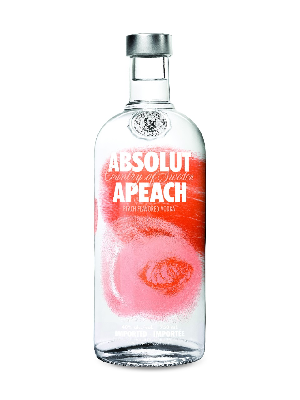 Vodka Absolut Apeach - Pêche (70 cl)