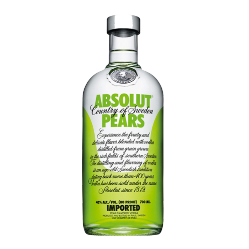 Vodka Absolut Pears - Poire (70 cl)