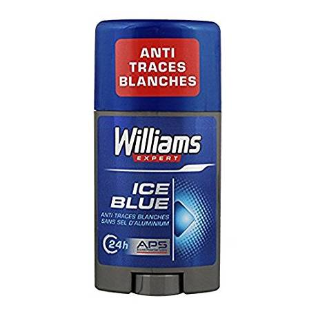 Déodorant stick Ice Blue, Williams (75 ml)