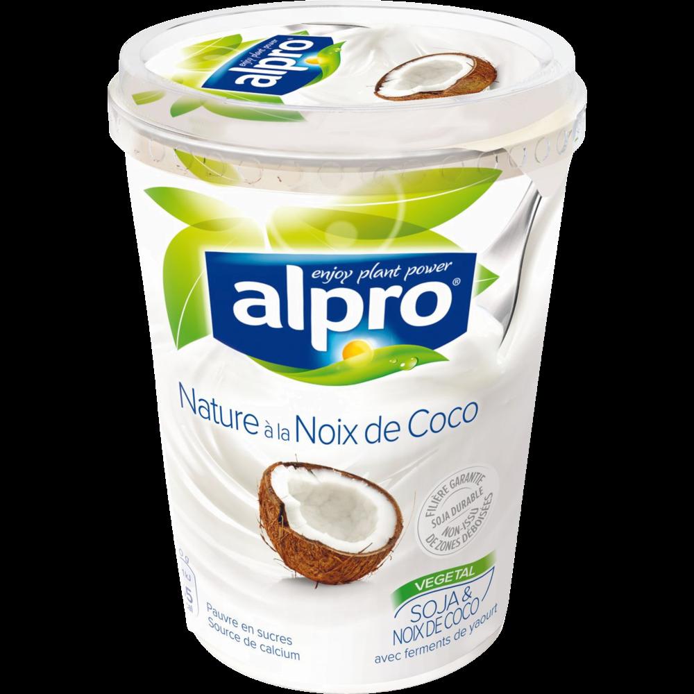 Dessert brassé au soja et à la noix de coco, Alpro (500 g)
