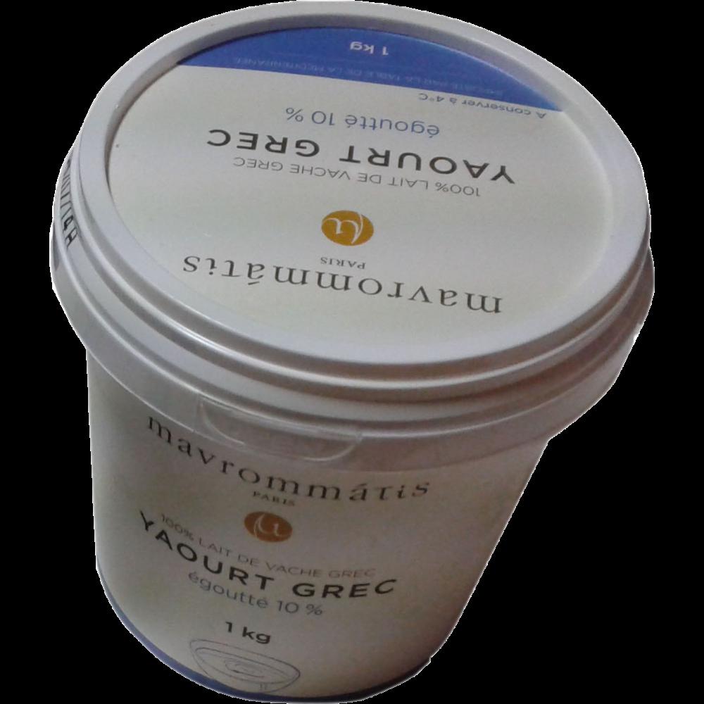 Yaourt grec nature, Mavrommatis (1 kg)