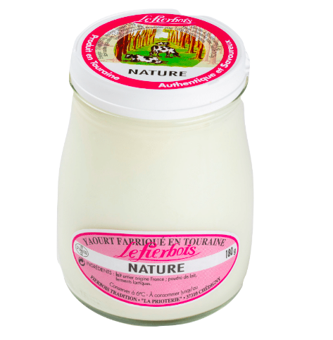 Yaourt nature, Fierbois (180 g)