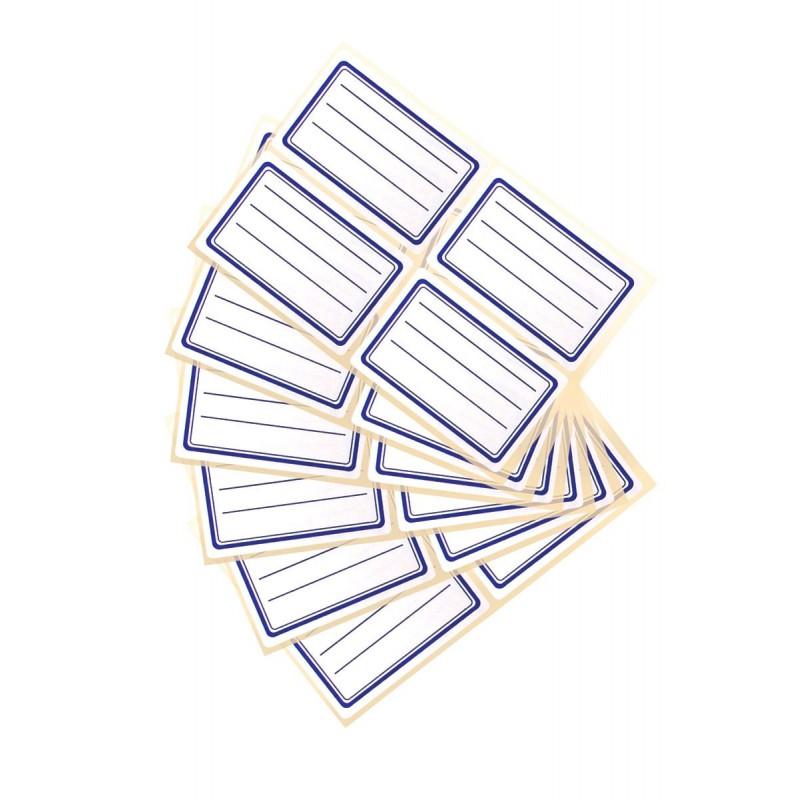 Étiquettes écolier (x 24)