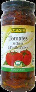 Tomates séchées à l'huile d'olive BIO, Rapunzel (240 g)
