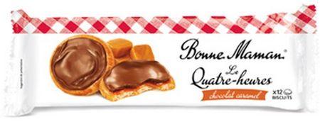 Le Quatre heures au chocolat & caramel, Bonne Maman (160 g)