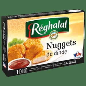 Nuggets de dinde Halal, Reghalal (200 g)