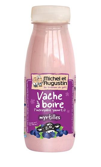 Vache à boire Myrtilles, Michel et Augustin (500 ml)