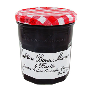 Confiture 4 fruits, Bonne Maman (370 g)