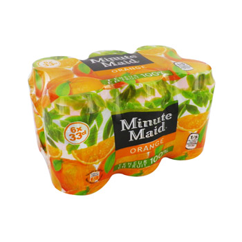 Minute Maid Orange (6 x 33 cl)