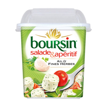 Boursin Salade Ail & Fines Herbes (120 g)