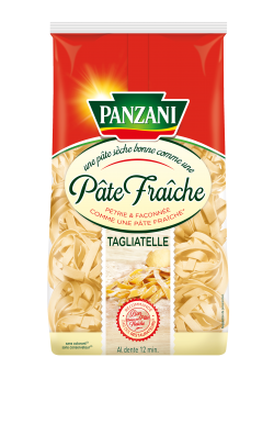 Tagliatelle qualité pâte fraîche, Panzani (400 g)