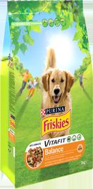 Croquettes pour chien VITAFIT balance au poulet, Friskies (4 kg)