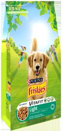 Croquettes pour chien VITAFIT light au poulet, Friskies (4 kg)