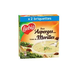 Soupe duo d'asperges et éclats de morilles, Liebig (2 x 30 cl)