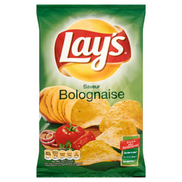 Chips saveur bolognaise, Lay's (130 g)