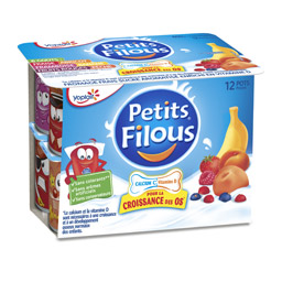 Petits Filous aux fruits, Yoplait (12 x 50 g)