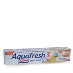 Dentifrice Blancheur et Soin complet, Aquafresh (75 ml)