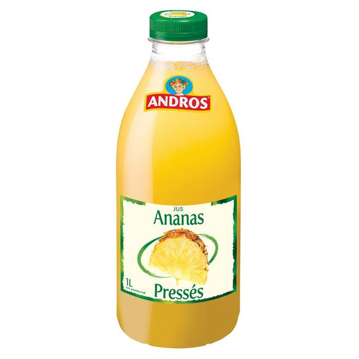 Jus d'ananas frais, Andros (1 L)