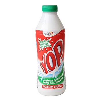 Yop à la fraise, Yoplait (500 g)