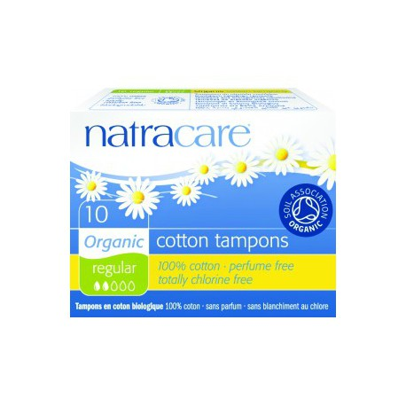 Tampon normal sans applicateur, Natracare (x 10)