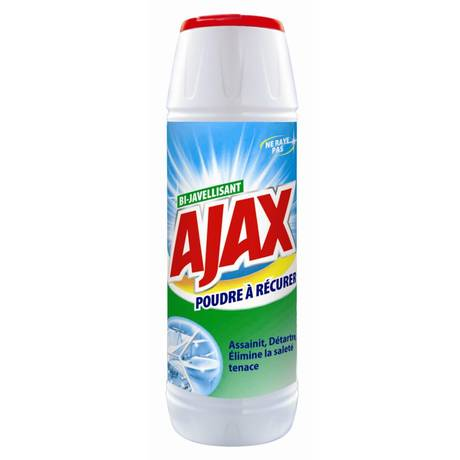 Poudre à récurer Bi-javelisant, Ajax (750 g)