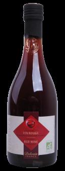 Vinaigre de vin rouge 6° BIO, Delouis (50 cl)