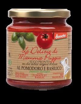 Sauce tomate au basilic, Le Delizie di Mamma  (300 g)