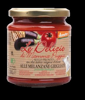 Sauce tomate et aubergines grillées, Le Delizie di Mamma  (300 g)