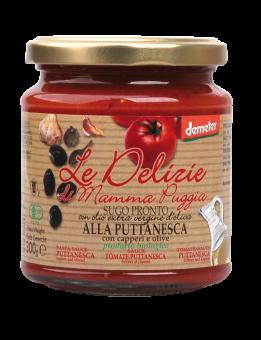 Sauce tomate Puttanesca, Le Delizie di Mamma  (300 g)